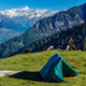 Camp in mountains. Kullu Valley, Himachal Pradesh, India - PhotoDune Item for Sale