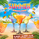Summer Cocktail Party Instagram Banner