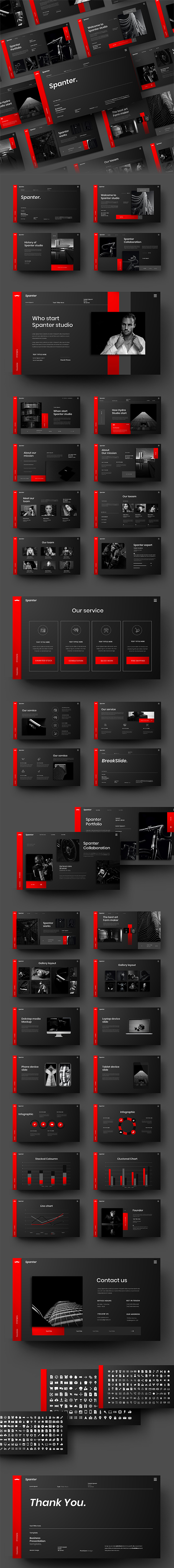 Spanter – Business PowerPoint Template