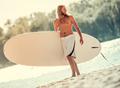 Man standup paddleboarding - PhotoDune Item for Sale