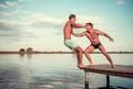 Guys on the sea - PhotoDune Item for Sale