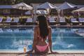Mulatto girl at the pool - PhotoDune Item for Sale