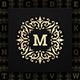 Vintage Monogram Alphabet Letters