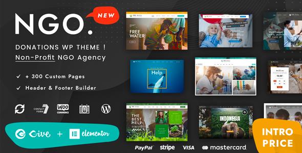 Ngo – Charity & Donation WordPress
