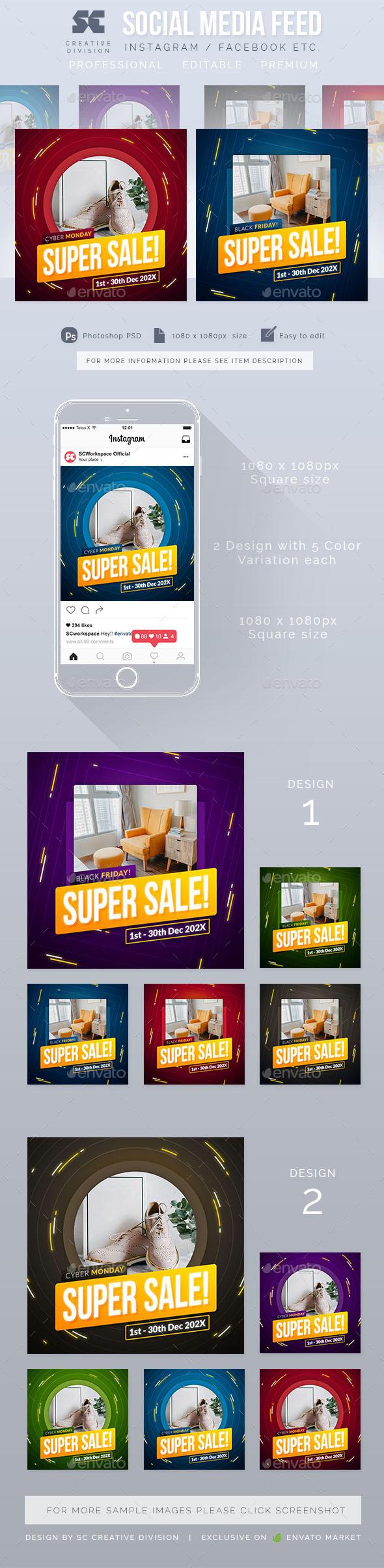 Instagram Sales Social Media Post