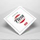 Pizza Box Packaging Mockup Vol 1
