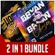 DJ Party Flyer Bundle 2 in 1