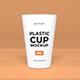 Plastic Cup Packaging Mockup Template Vol 1