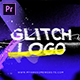 Glitch Grunge Distortion Logo Intro - VideoHive Item for Sale