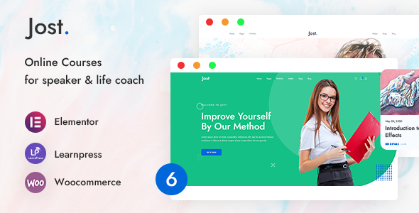 Jost – Coaching & Online Course WordPress Theme