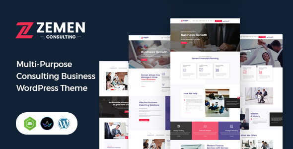 Zemen - Multi-Purpose Consulting Business WordPress Theme
