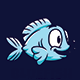 Bluefish - Logo Mascot