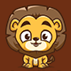 Lion Kids - Logo Mascot