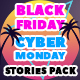 Black Friday and Cyber Monday Stories Pack - VideoHive Item for Sale