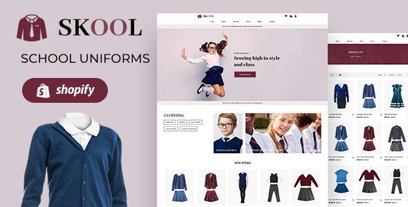 Skool | Kids School Uniform Store Shopify Theme