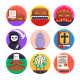 50 Funeral Services Icons