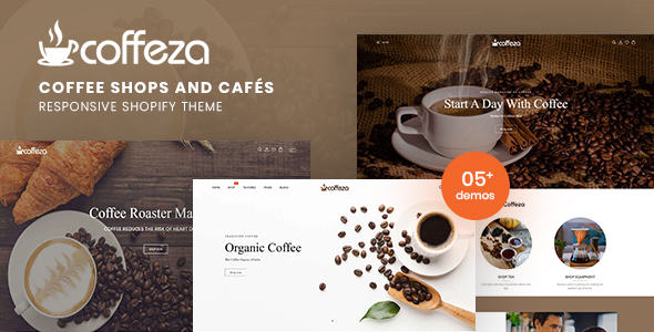 Coffeza РCoffee Shops and Caf̩s Responsive Shopify Theme