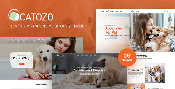 Catozo – Pets Shop Responsive Shopify Theme