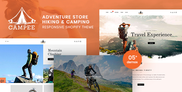 Campee – Adventure Store Hiking and Camping Shopify Theme