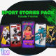 Sport Stories - VideoHive Item for Sale