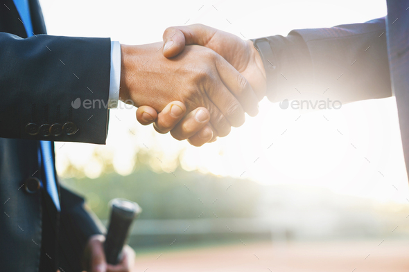 Business handshake - Stock Photo - Images