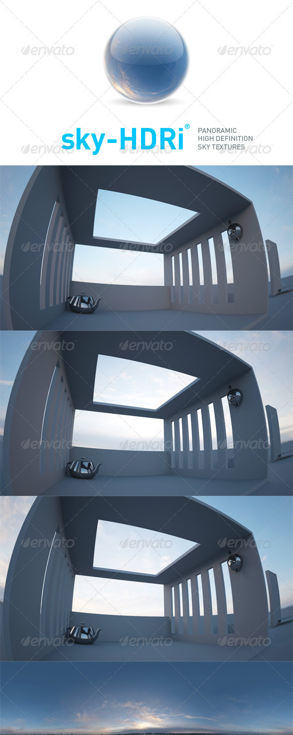 sky-HDRi-10 - 3DOcean Item for Sale
