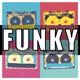 Retro Funk Bass Logo