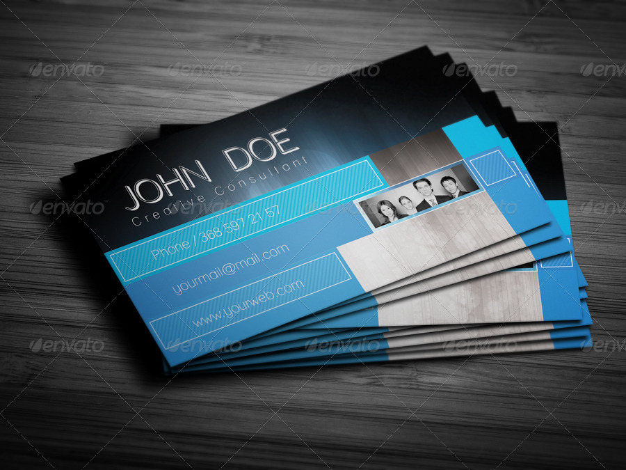 Creative Business Cards For Consultants Images - Card Design And ...