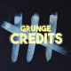 Grunge Credits - VideoHive Item for Sale