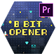 8 Bit Old Game Opener - Premiere Pro - VideoHive Item for Sale