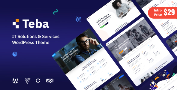 Teba – IT Solutions & Services WordPress Theme
