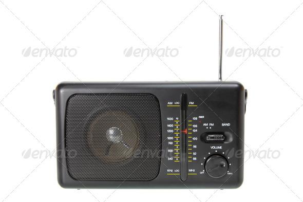 Transistor Radio - Stock Photo - Images