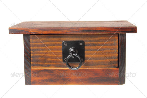 Wooden Chest - Stock Photo - Images
