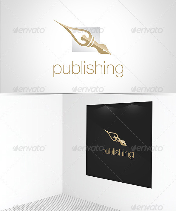 Publishing House Logo Template - Objects Logo Templates