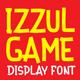 Izzul Game Display Font