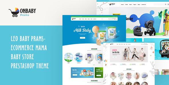 Leo Baby Prams – Ecommerce Mama Baby Store PrestaShop Theme