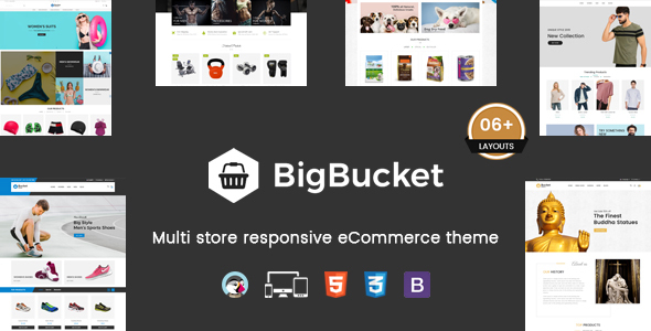 BigBucket – Multipurpose Responsive Prestashop Theme