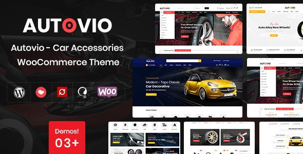 Autovio – Car Accessories WooCommerce Theme
