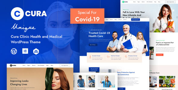 Cura – Medical Clinic Theme