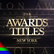 Awards Titles | Golden Ceremony - VideoHive Item for Sale