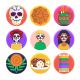 50 Day of the Dead Icons