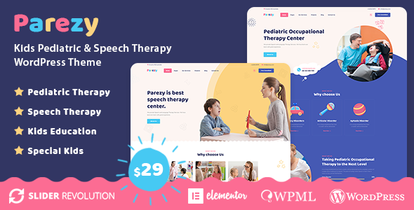 Parezy – Kids Speech Therapy Education