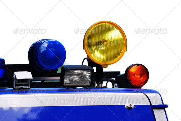 Rescue Lights - Stock Photo - Images