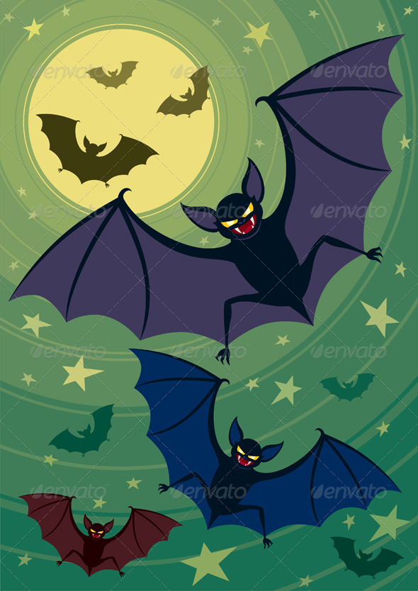 Bats - Halloween Seasons/Holidays