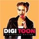 Digi Toon Photoshop Action