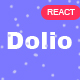 Dolio - React JS Personal Portfolio Template