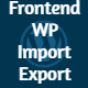 Frontend Addon - WP Awesome Import Export Plugin