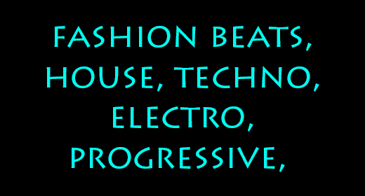 dance and electronic music and loops