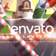 3d Cartoon Christmas Logo - VideoHive Item for Sale
