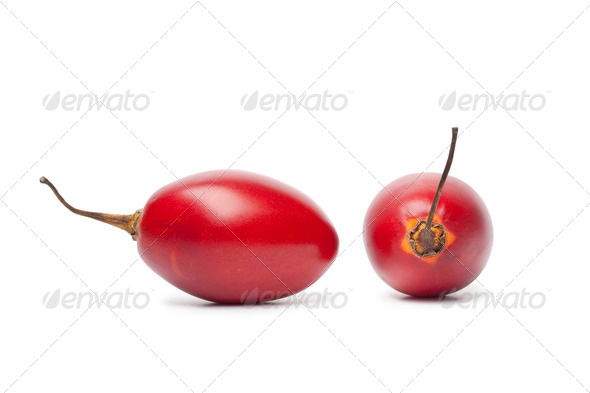 Fresh Tamarillo fruit - Stock Photo - Images
